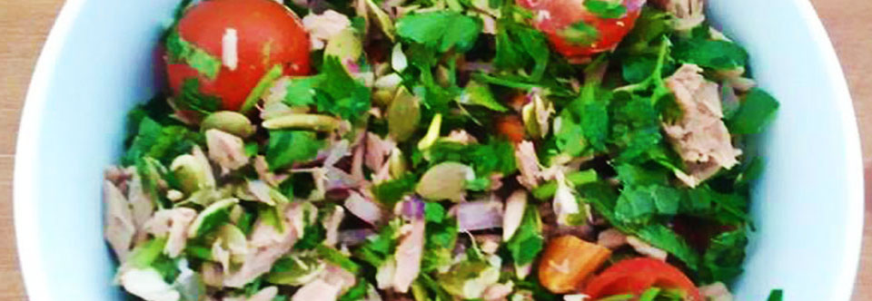 Tuna Tabouli Salad