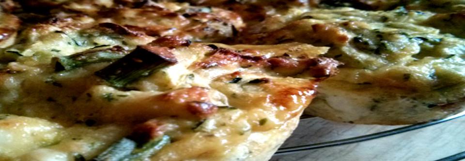 Gluten Free Zucchini and Spring Onion Muffins